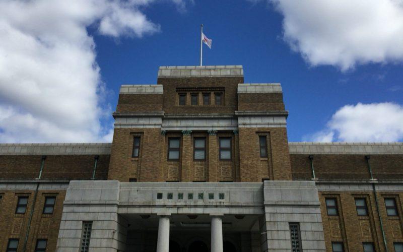 正面から見た国立科学博物館の日本館