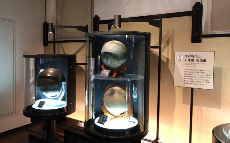 国立科学博物館の日本館1F南に展示している渋川春海の天球儀