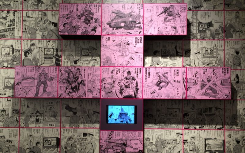 こち亀展に展示していたエンディング傑作選