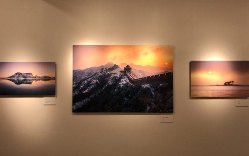 銀座プレイス6Fのソニーイメージングギャラリーで開催されたKyon.J 作品展 Amazing Momentsの展示作品