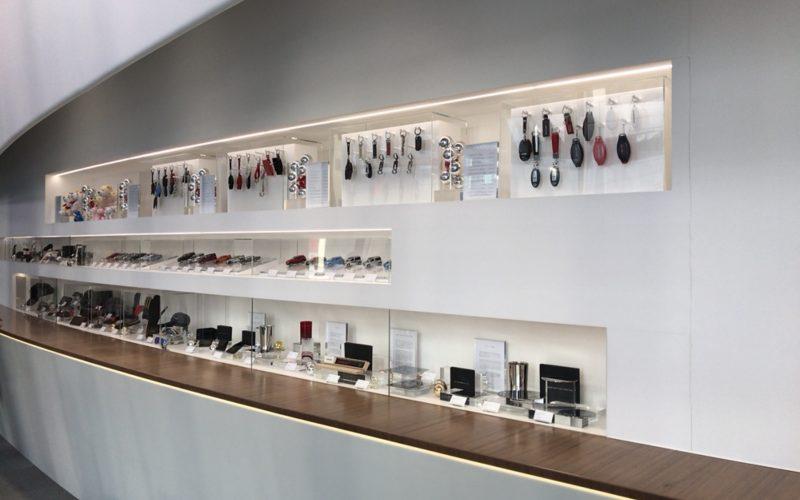 銀座プレイス2Fにある日産ブティックの商品展示スペース