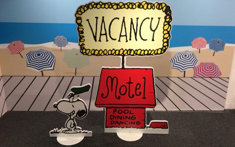 西武池袋別館2Fの西武ギャラリーで行われていたスヌーピーのカリフォルニアボードウォークの展示