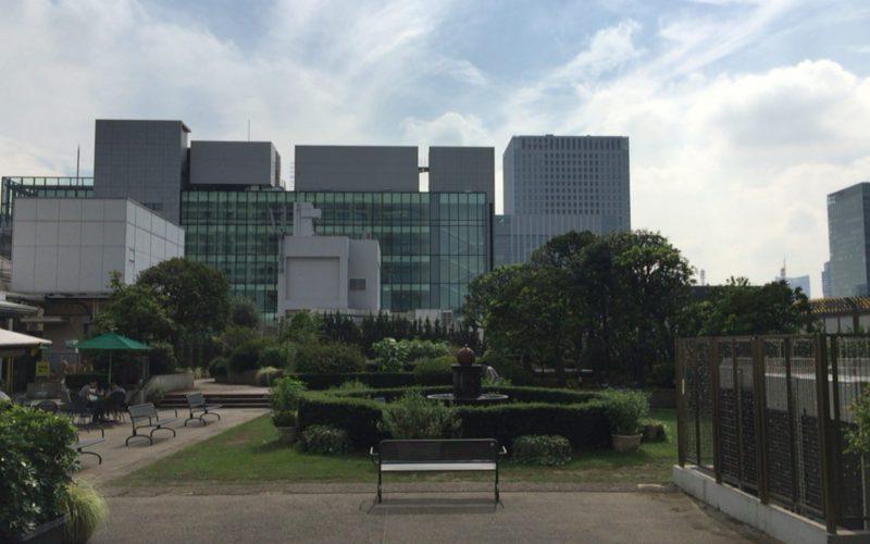 日本橋高島屋本館の屋上トップアイランド