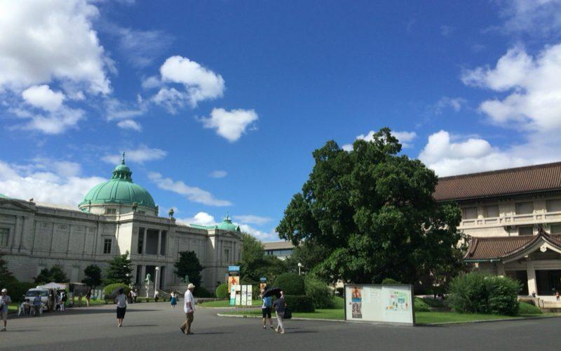 東京国立博物館の本館と表慶館