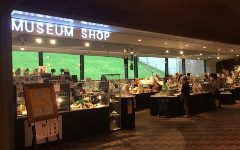 東京都美術館のロビー階にあるミュージアムショップ
