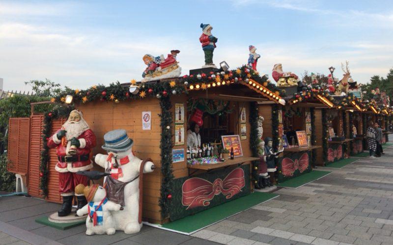 東京ソラマチ4Fのスカイアリーナにオープンしたクリスマスマーケット