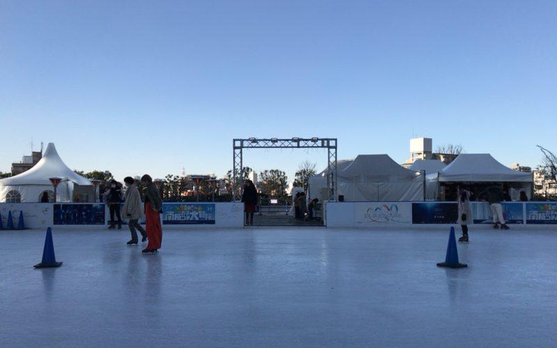 東京ソラマチ4Fのスカイアリーナに設置していた東京スカイツリータウン アイススケーティングパーク
