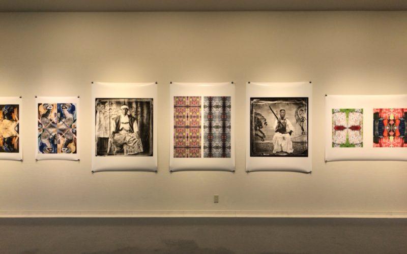 スパイラルガーデンで開催されたエバレット・ケネディ・ブラウン Japanese Samurai Fashionの展示作品