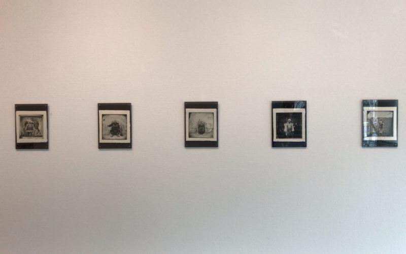 スパイラルガーデンで開催されたエバレット・ケネディ・ブラウン Japanese Samurai Fashionに展示されていた湿板光画で撮影された写真