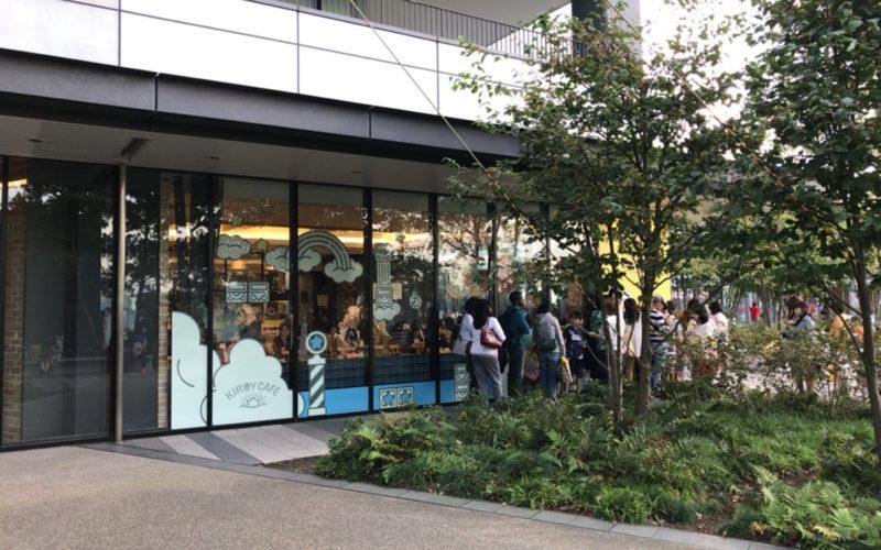 東京ソラマチ4Fにオープンしたカービィカフェの外観