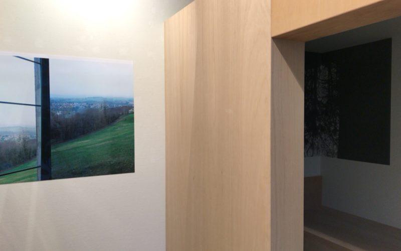 スパイラルガーデンで開催された窓学展 窓から見える世界に展示されたホンマタカシさんの作品