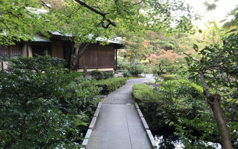 根津美術館の庭園