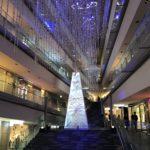 表参道ヒルズクリスマス with パナソニックビューティのクリスマスツリー
