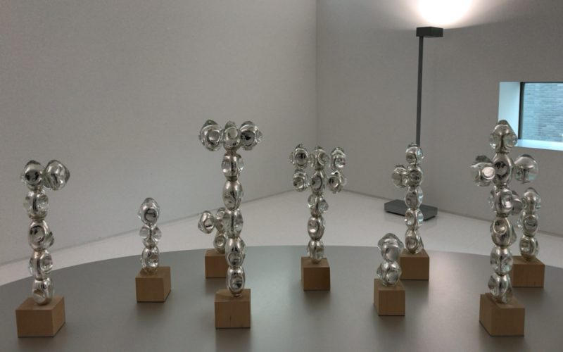 三嶋りつ惠 星々の奥の展示室に展示していた作品