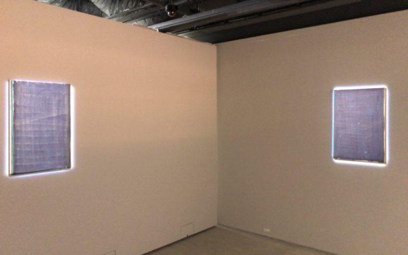 ギンザシックス6Fの銀座蔦屋書店内にあるTHE CLUBで開催した「青ぞらのはてのはて」の奥の展示室内