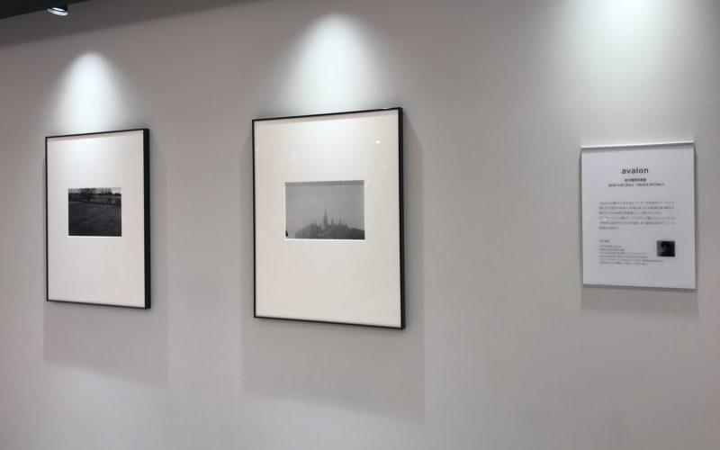 ギンザシックス5FのライカGINZA SIXで開催している「柏木龍馬写真展 avalon」の展示作品