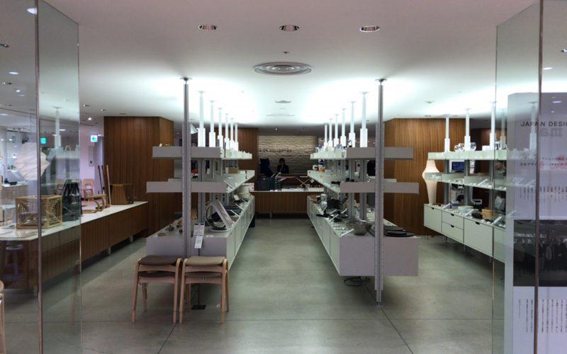 松屋銀座7Fにあるデザインコレクションの店内