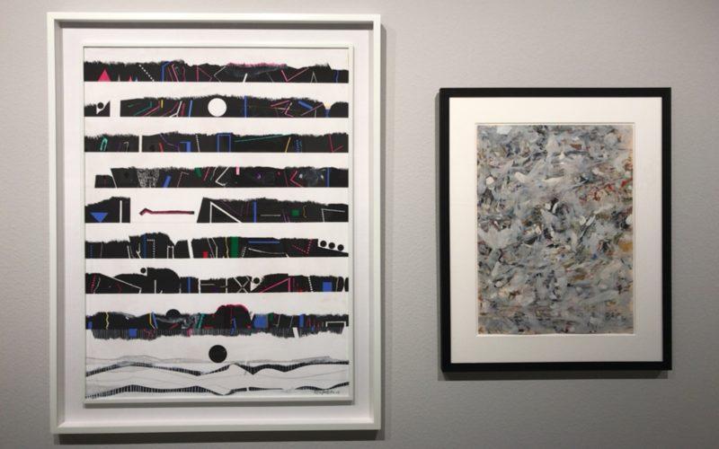 ギンザシックス6FのTHE CLUBで開催した「Pattern 紋様 Forms of Beauty」に展示していた猪熊弦一郎さんの作品