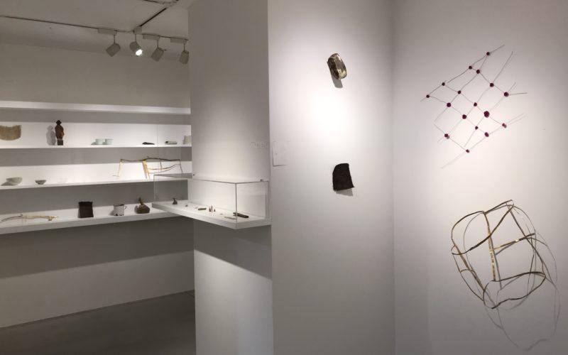 松屋銀座7Fのデザインギャラリー1953で開催した企画展「弱さの工芸」の会場内