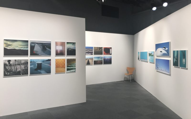 ラフォーレ原宿6Fのラフォーレミュージアムで開催した瀧本幹也「CROSSOVER」の会場内