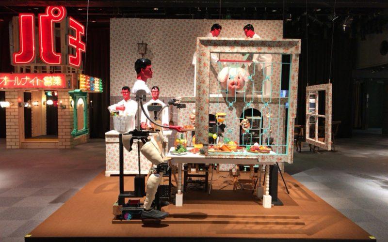 ラフォーレ原宿6Fのラフォーレミュージアムで開催したmagma 10th Anniversary exhibitionの会場内