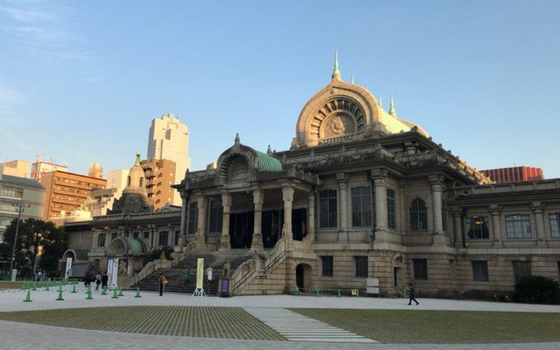 築地本願寺の本堂の外観
