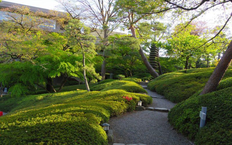 白金台 八芳園の日本庭園