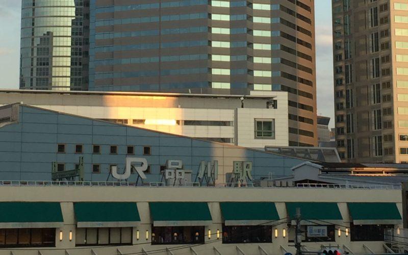 八芳園のシャトルバスが運行している品川駅高輪口