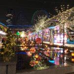 東京ドームシティウィンターイルミネーション 江戸の粋 日本の華の会場内
