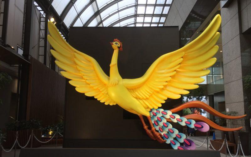 新宿高島屋で開催した火の鳥イルミネーション