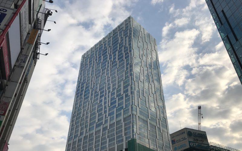 渋谷ストリームの建物