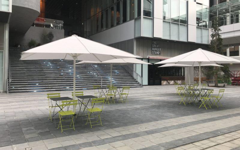 渋谷ストリームのイベントスペース「稲荷橋広場」