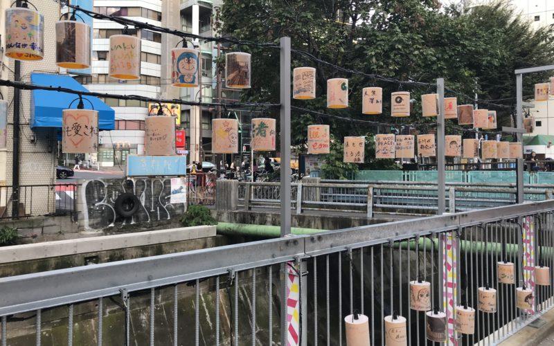 渋谷ストリームのイベントとして開催したツナグアカリのランタン