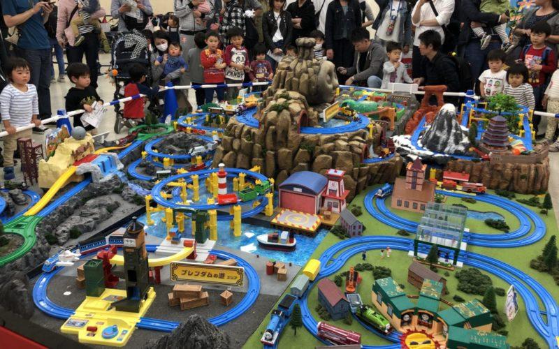 池袋サンシャインシティで開催したイベント「プラレール博 in TOKYO」のプラレールトーマスゾーン