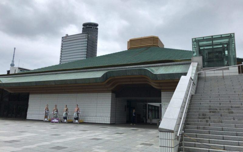 両国国技館の建物