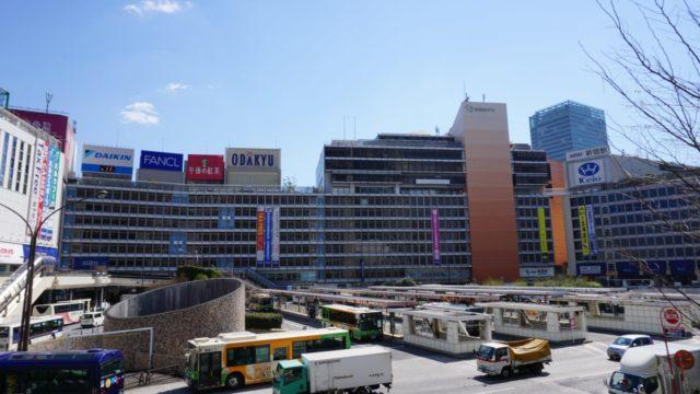 小田急新宿店の外観