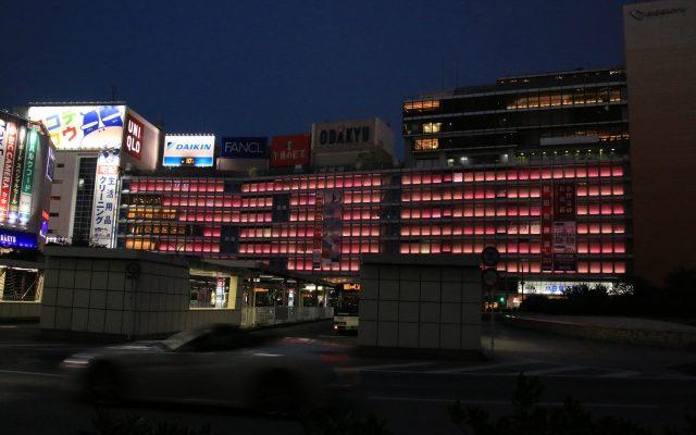 小田急新宿店 夜